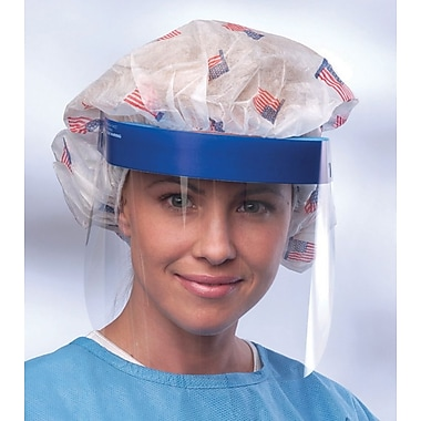 Medline Full Length Face Shields, Clear, 96/Pack