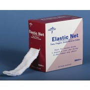 "Medline Elastic Wound Retainer Nets, 9 Size, 24"" L x 35"" W, 25/Pack"