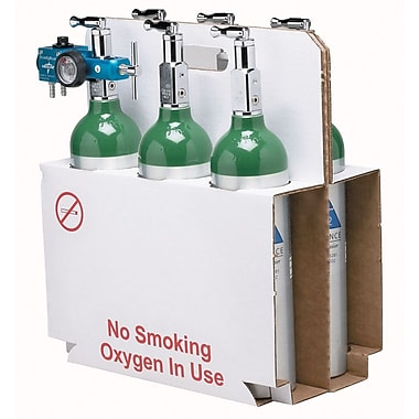 Medline Oxygen Cylinder Cardboard  Tote for M6 Bags, 25/Pack