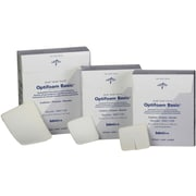 "Optifoam® Basic Fenestrated Dressings, 3"" x 3"" Size, 100/Pack"