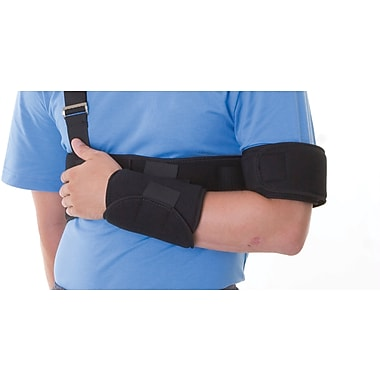 Medline Cut-away Shoulder Immobilizers, Universal, Metal Buckle Closure