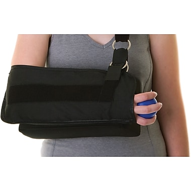 Medline Shoulder Immobilizer with Abduction Pillow, Large, D-ring Closure