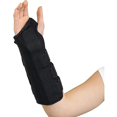 Medline Wrist and Forearm Splints, Large, Left Hand, Each