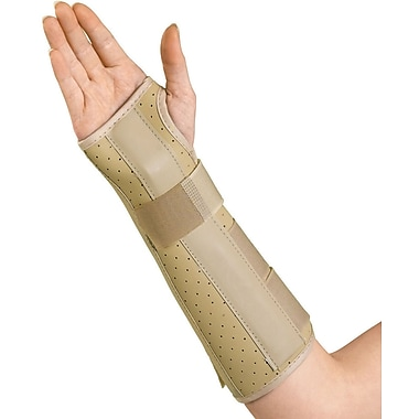 Medline Wrist and Forearm Splints, Small, Left Hand, Each