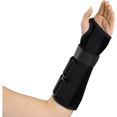 Medline Deluxe Wrist and Forearm Splint, Large, Left Hand, Each