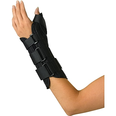 Medline Wrist and Forearm Splint with Abducted Thumb, Large, Left Hand, Each