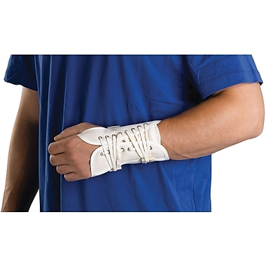 Curad® Lace-up Left Wrist Splints, Large, Retail Packaging, 4/Pack