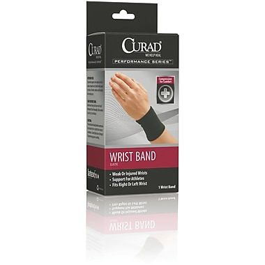 Curad® Wrist Bands, Large