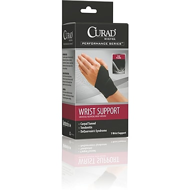 Curad® Wrap-around Wrist Support, Universal, 4/Pack