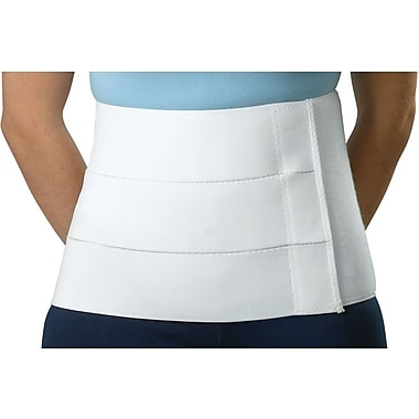 Curad® Tri-panel Abdominal Binder, Small/Medium, 30in. - 45in. L, 9in. H, Each