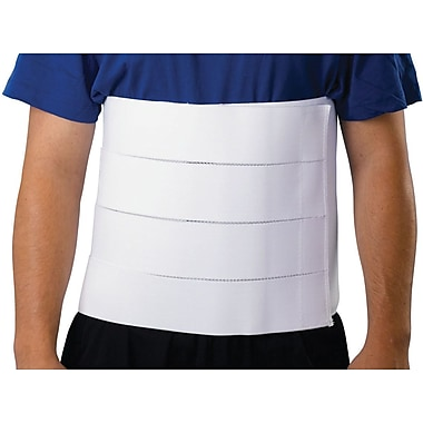 Medline Premium 4-panel Abdominal Binder, Large/XL, 42in. - 62in. L, 12in. H, Each