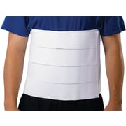 "Medline Premium 4-panel Abdominal Binder, Small/Medium, 30"" - 45"" L, 12"" H, Each"