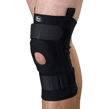 Curad® Knee Support with Removable U-buttress, Black, Large, Each