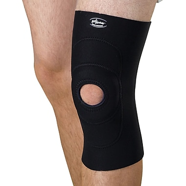Curad® Knee Support with Round Buttress, Black, Medium, Each