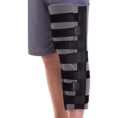 Medline Foam Cut-away Knee Immobilizers, Universal, 19in. L, Each