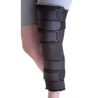 Medline Deluxe Foam Cut-away Knee Immobilizers, Universal, 19in. L, Each