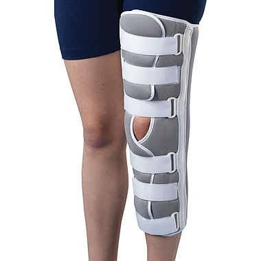 Medline Sized Knee Immobilizers, Large, 16in. L, Each