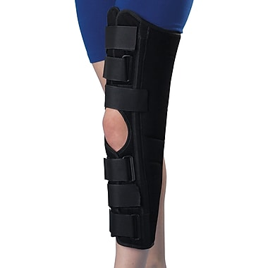 Medline Deluxe Sized Knee Immobilizers, Medium, 16in. L, Each