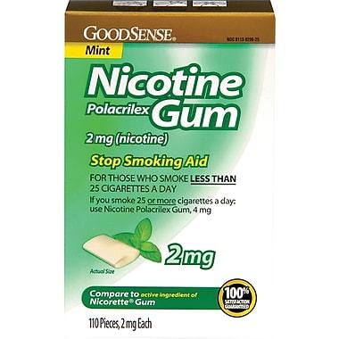 Generic OTC Nicotine Gums, 4 mg Size, 110/Box