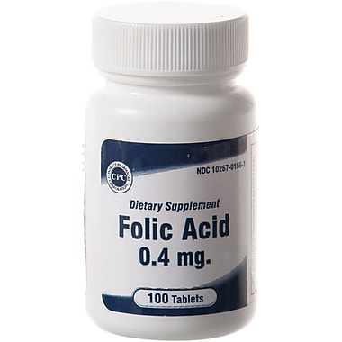 Generic OTC Folic Acid Tablets