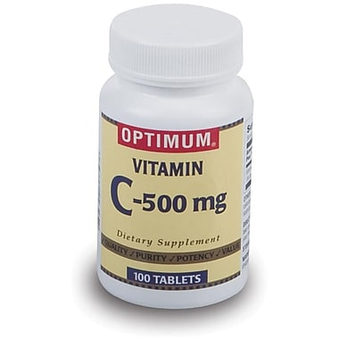 Generic OTC Vitamin C Tablets, 500 mg, 1000/Pack