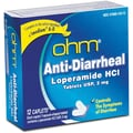 Anti-diarrheal Caplets, 2 mg, 12 Caplets/Box