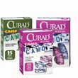 Curad® Adhesive Bandages, Green Camoflauge, 3in. L x 3/4in. W, 25 Bandages/Box
