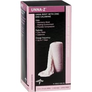 "Medline Calamine Unna Boot Bandages, 10 yds L x 3"" W"