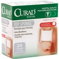 Curad® Sterile Post-op Top Sponges, 4in. x 3in. Size, 24/Pack