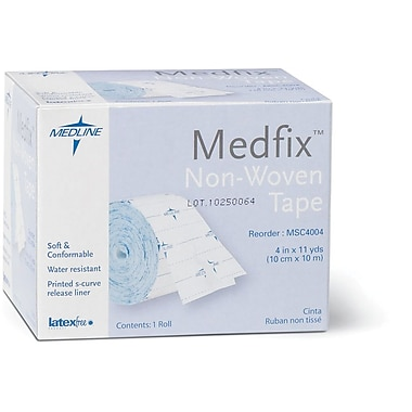 MedFix™ Retention Dressing Tapes, 11 yds L x 4