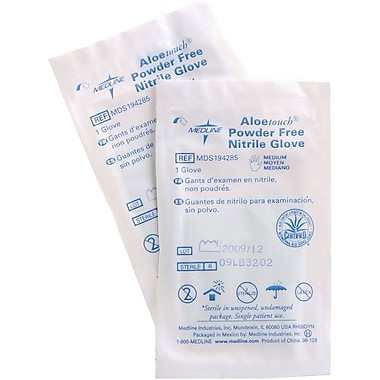 Aloetouch® 9in. Powder-free Latex-free Nitrile Exam Gloves