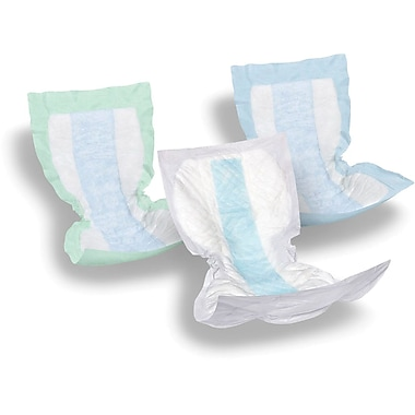Protection Plus® Incontinence Liner, Green, 13 1/2in. x 28in., 72/Pack
