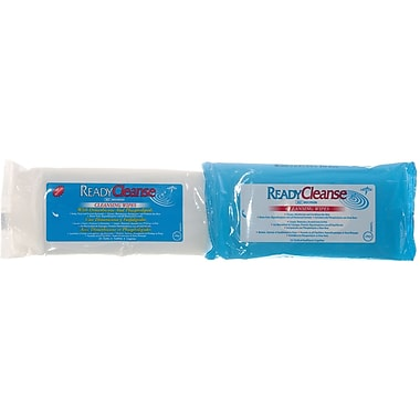 ReadyCleanse® Wipes, 12in. L x 8in. W, Fragrance-free, Soft Pack Container, 24/Pack