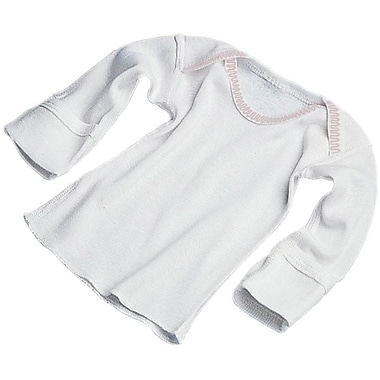 Medline Slipover Infant Shirts, 3 Month, Mitten Cuff