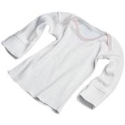 Medline Slipover Infant Shirts, 6 Month, Mitten Cuff