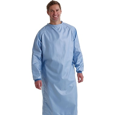 Blockade® 2-ply Surgeons Gown, Ceil Blue, Large, Tie Neck and Back, Dozen