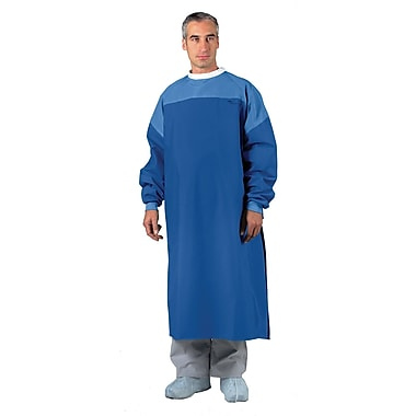 Gore® LP Level 4 Critical Coverage Gown, Ocean Blue, XL, Snap Neck and Tie Back, Dozen