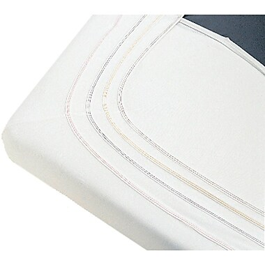 Soft-Fit® Knitted Bassinet/Crib Sheets, White, 60in. L x 30in. W