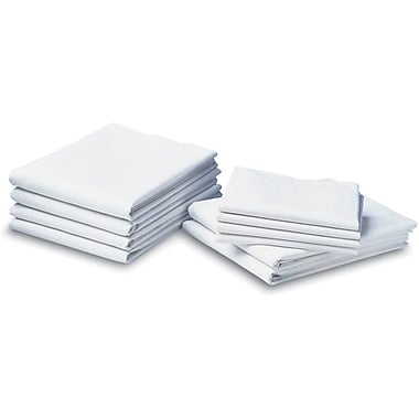 Cotton Cloud Muslin Draw Sheets, White, 54in. L x 72in. W