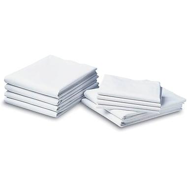 Cotton Cloud Muslin Draw Sheets, White, 54