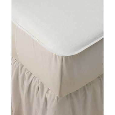 New Dimensions Bleached 50/50 Blended Mattress Pads, 18in. L x 17in. W