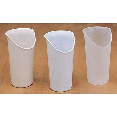 Maddak Nosey Cups, Clear, 6/Pack