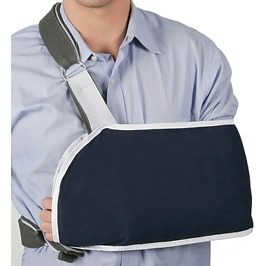 Medline Sling Style Shoulder Immobilizers, Large, Metal Buckle Closure