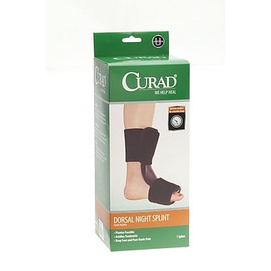 Curad® Dorsal Night Splint, Universal, 4/Pack