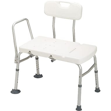 Guardian® Transfer Benches with Backs, White