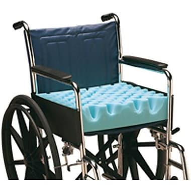Conforma™ Wheelchair Cushions, 18in. L x 4in. W x 16in. D, Convoluted Type