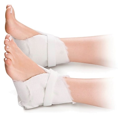 Medline Synthetic Fur Lined Heel Protectors, 6/Pack