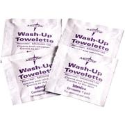 """Medline Wash-up Towelettes, 7 1/2"""" x 4 1/2"""" Size, 1000/Pack"""