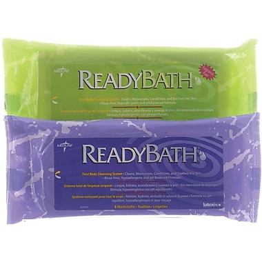 ReadyBath® Premium Washcloths, Fragrance free, 24/Pack