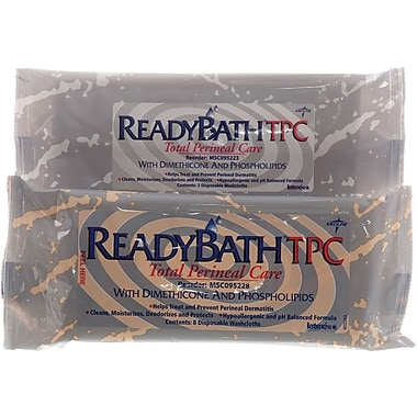 ReadyBath® Total Perineal Care Washcloths, Fragrance free, 72/Pack